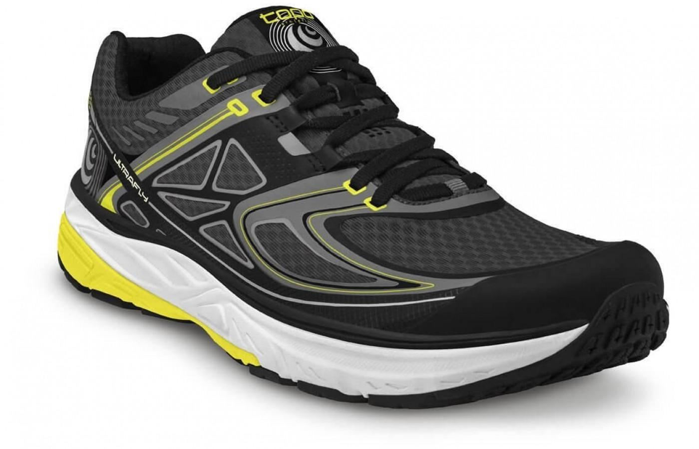 the Topo Athletic Ultrafly is a light trail runner with great cushioning for superior comfort
