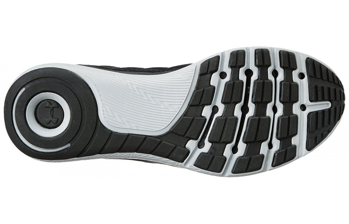 The Under Armour Threadborne Slingflex's outsole is lightweight and durable