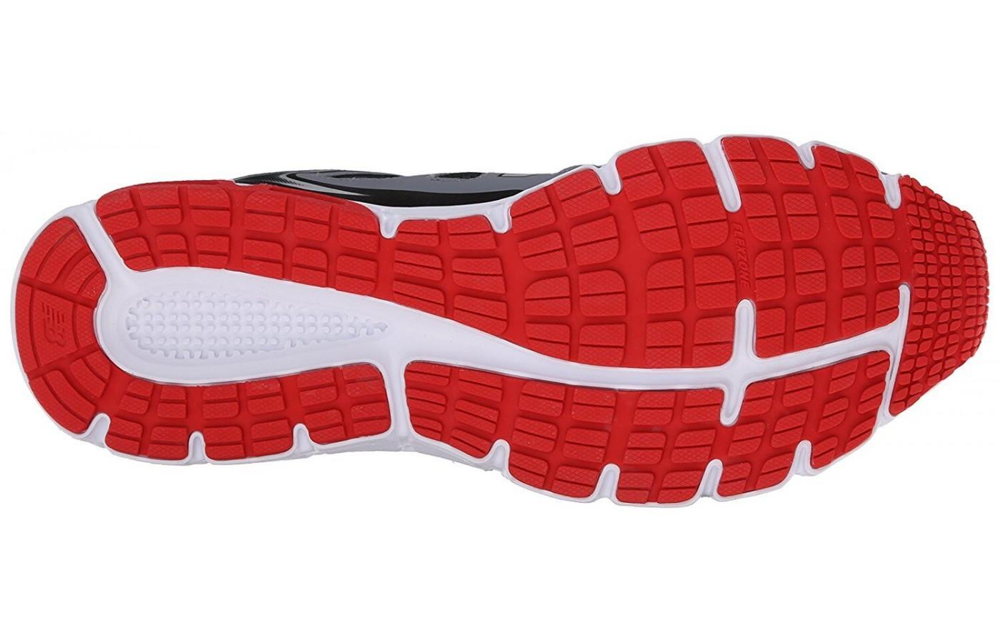 A look at the outsole of the New Balance 560V6.