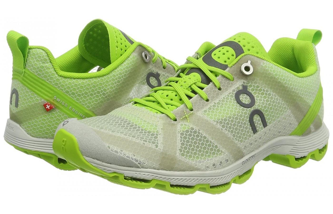 here's a pair of the Cloudracer running shoes