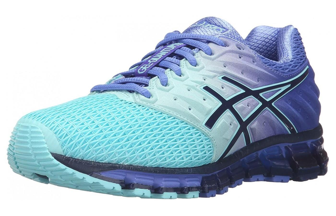 3379335d3 Asics Gel Quantum 180 2. Runners love the bright color and unique design of  this shoe ...