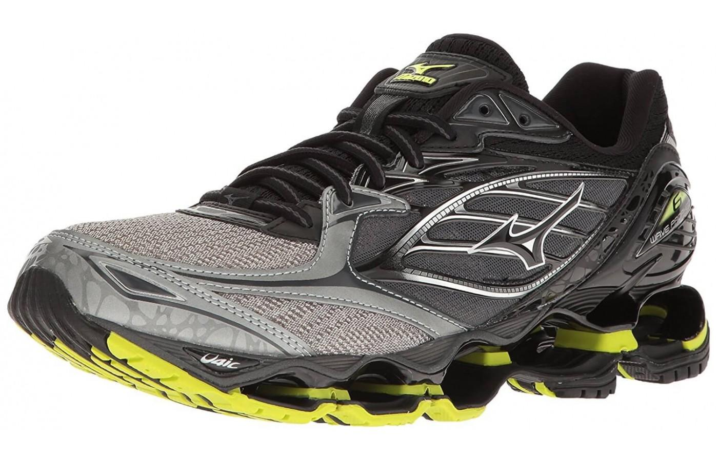 3b6906c98519 Runners love the unique style and design of the Mizuno Wave Prophecy 6 Nova  ...