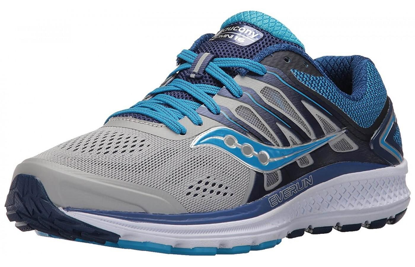 The Saucony Omni 16 made key improvements to its previous model.