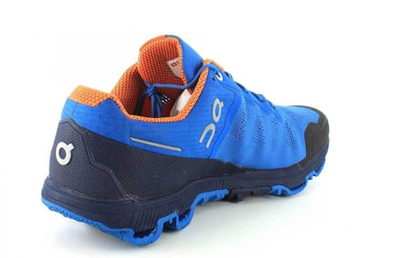 The shoe features a 6 millimter drop and added cushioning in the midsole