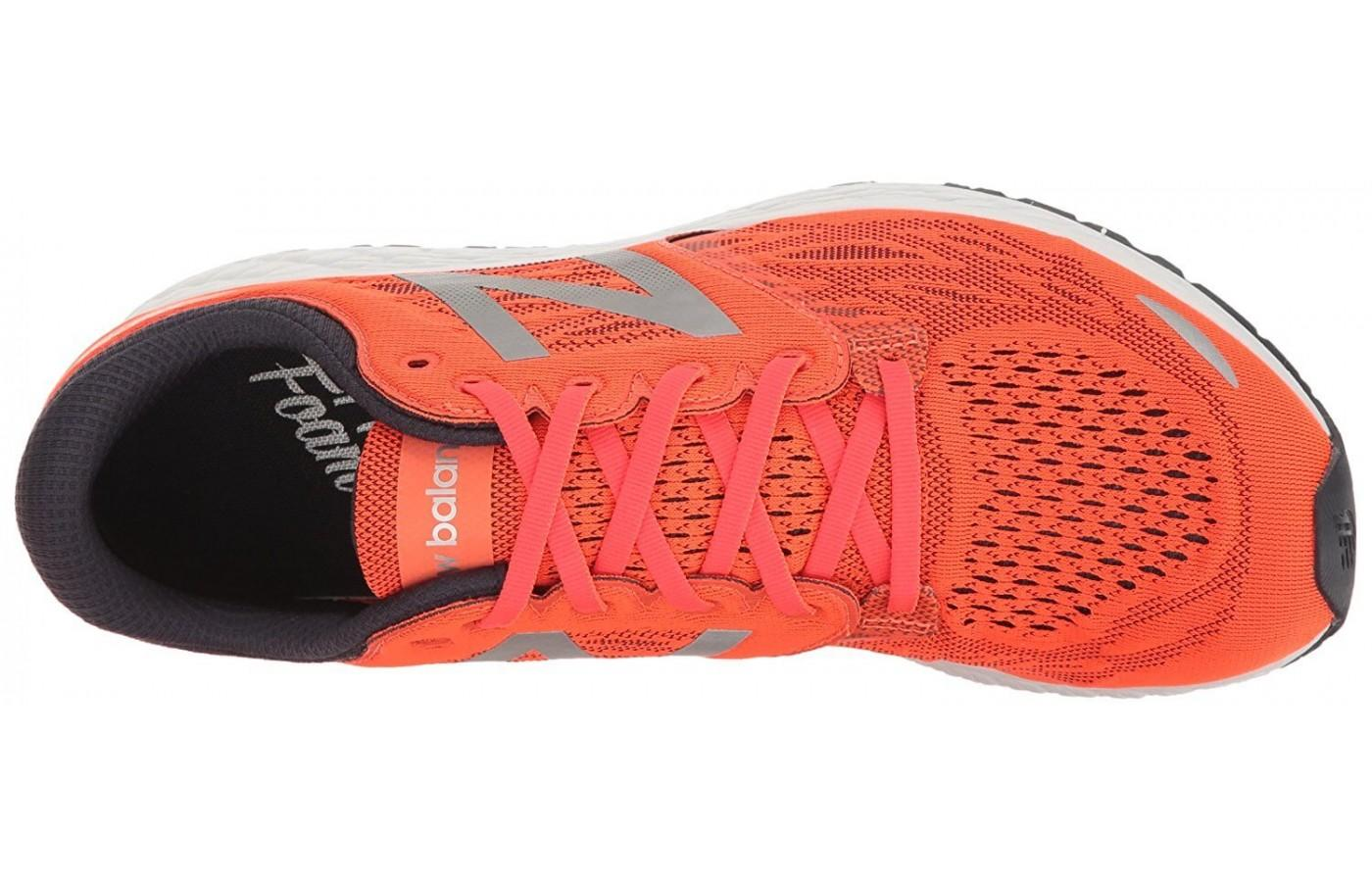 The upper features a more breathable mesh.