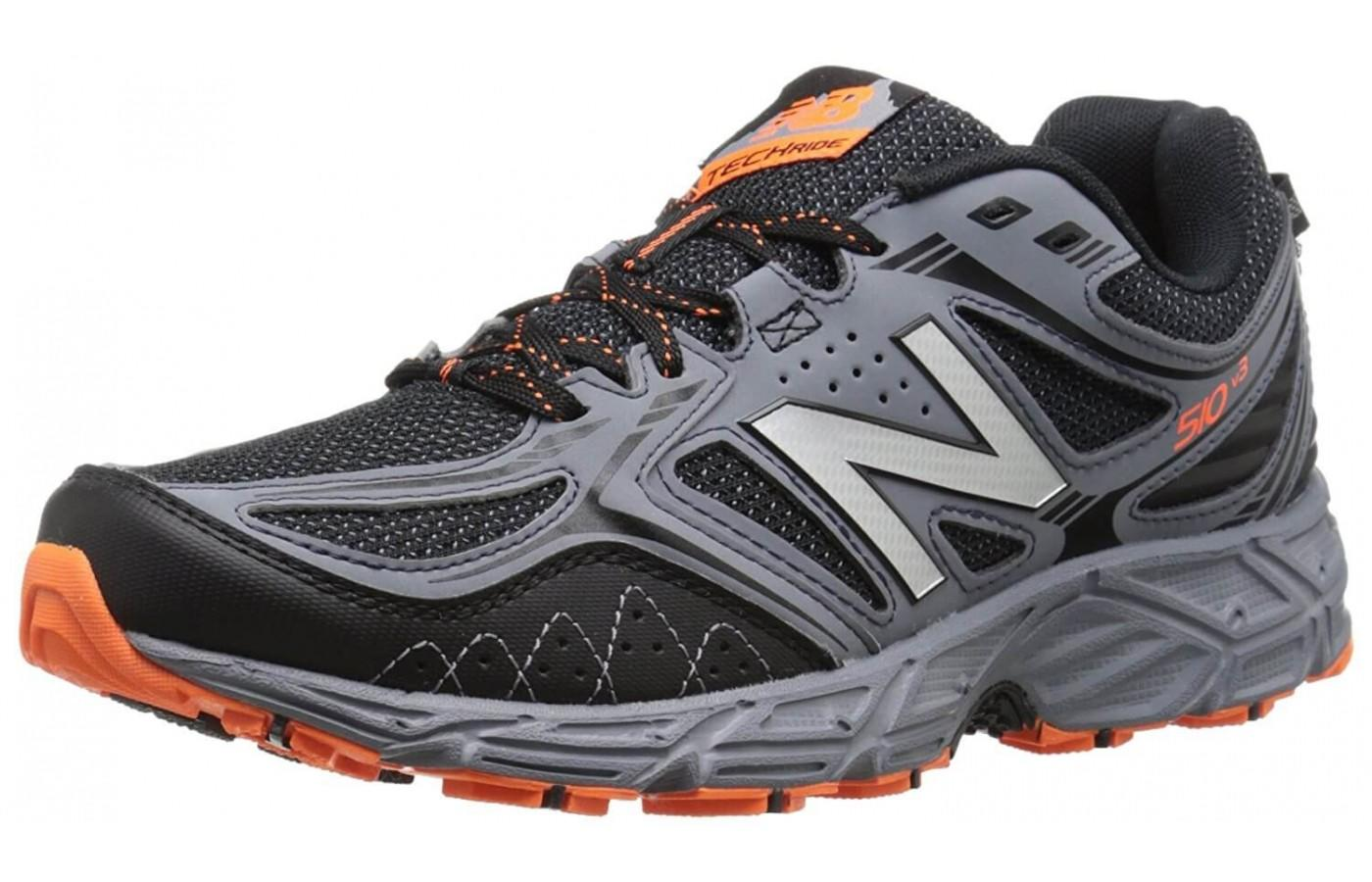 Runners loved the aggressive, rugged look of the New Balance 510v3 Trail.