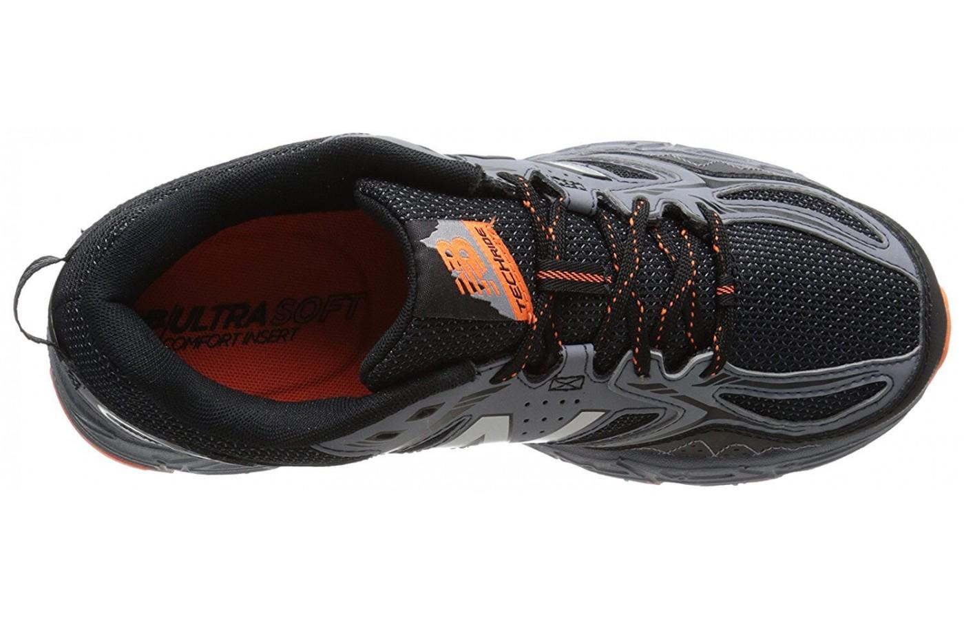 The breathable upper provides a comfortable ride.