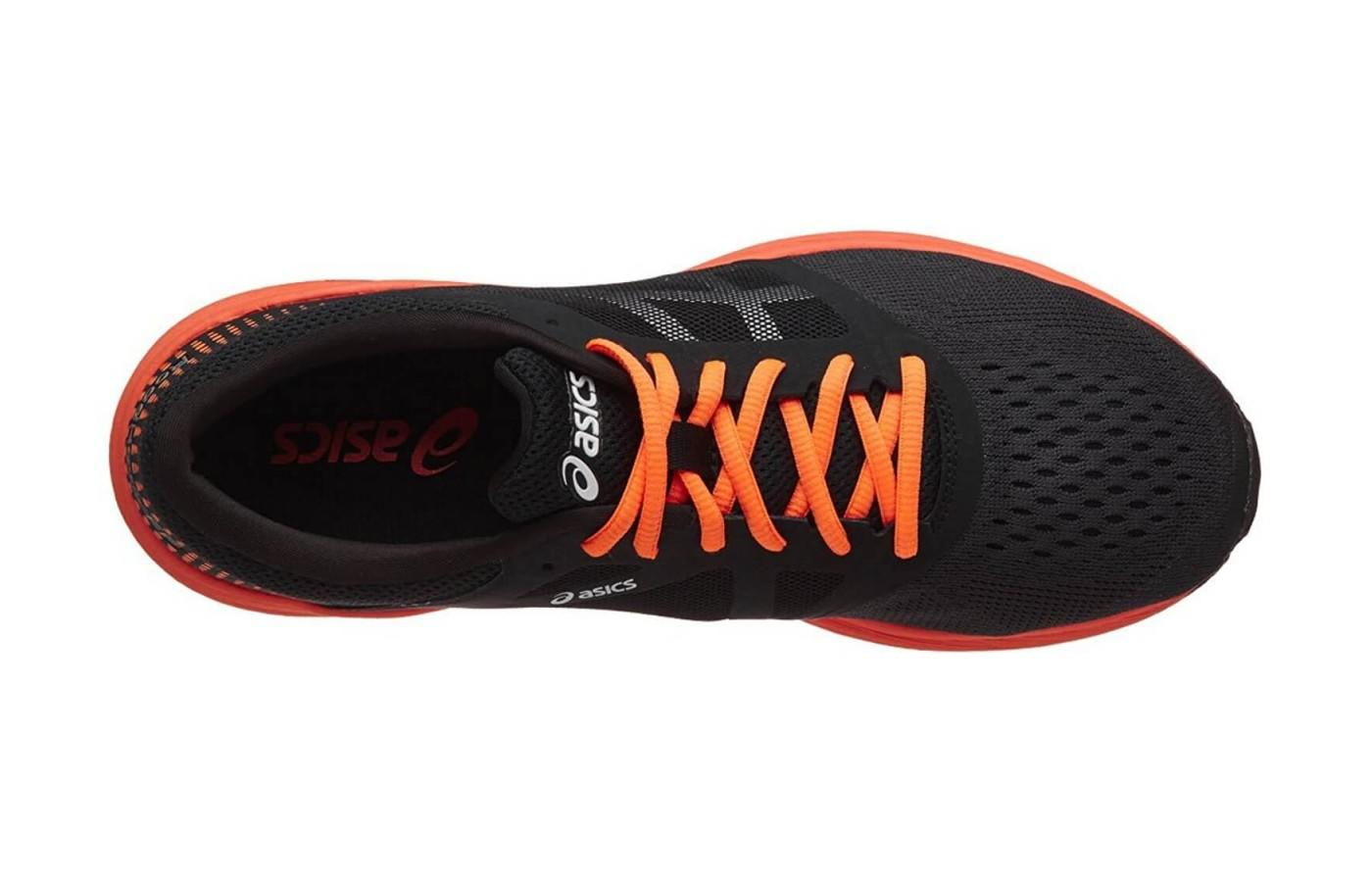 The upper is breathable and the shoe is extremely lightweight