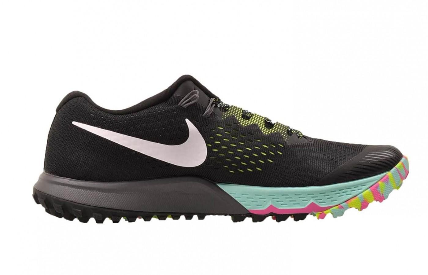 the Nike Air Zoom Terra Kiger 4 has a wider toe box than the previous version