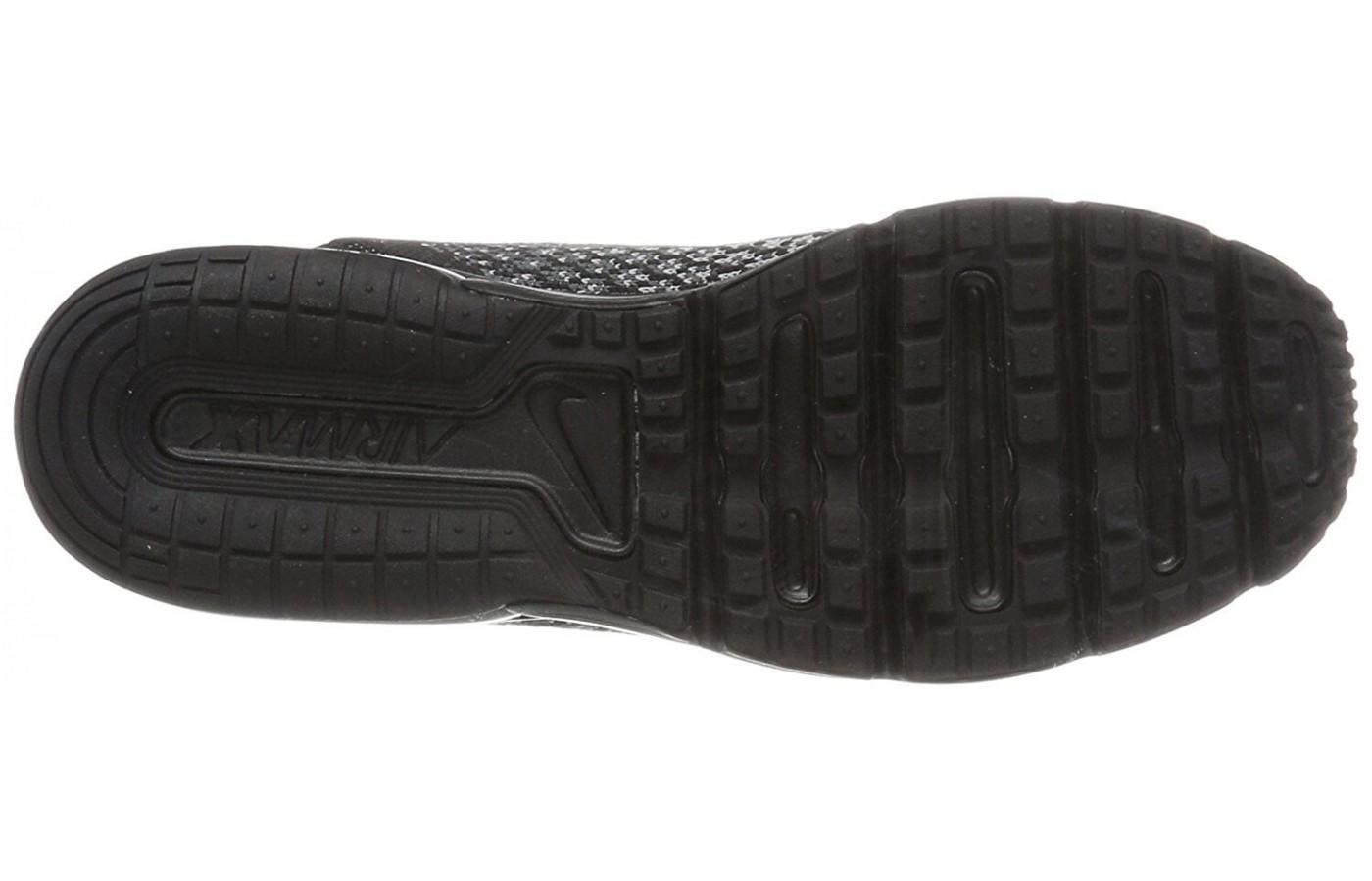 The outsole makes this a great shoe for everyday wear or cross training