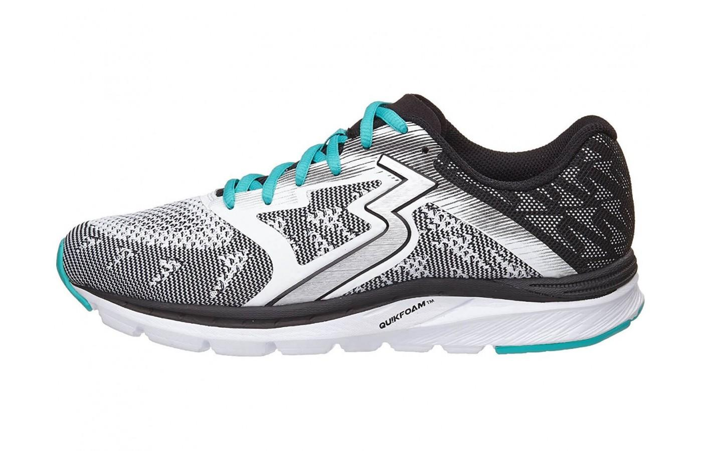 the midsole cushioning is firm and responsive