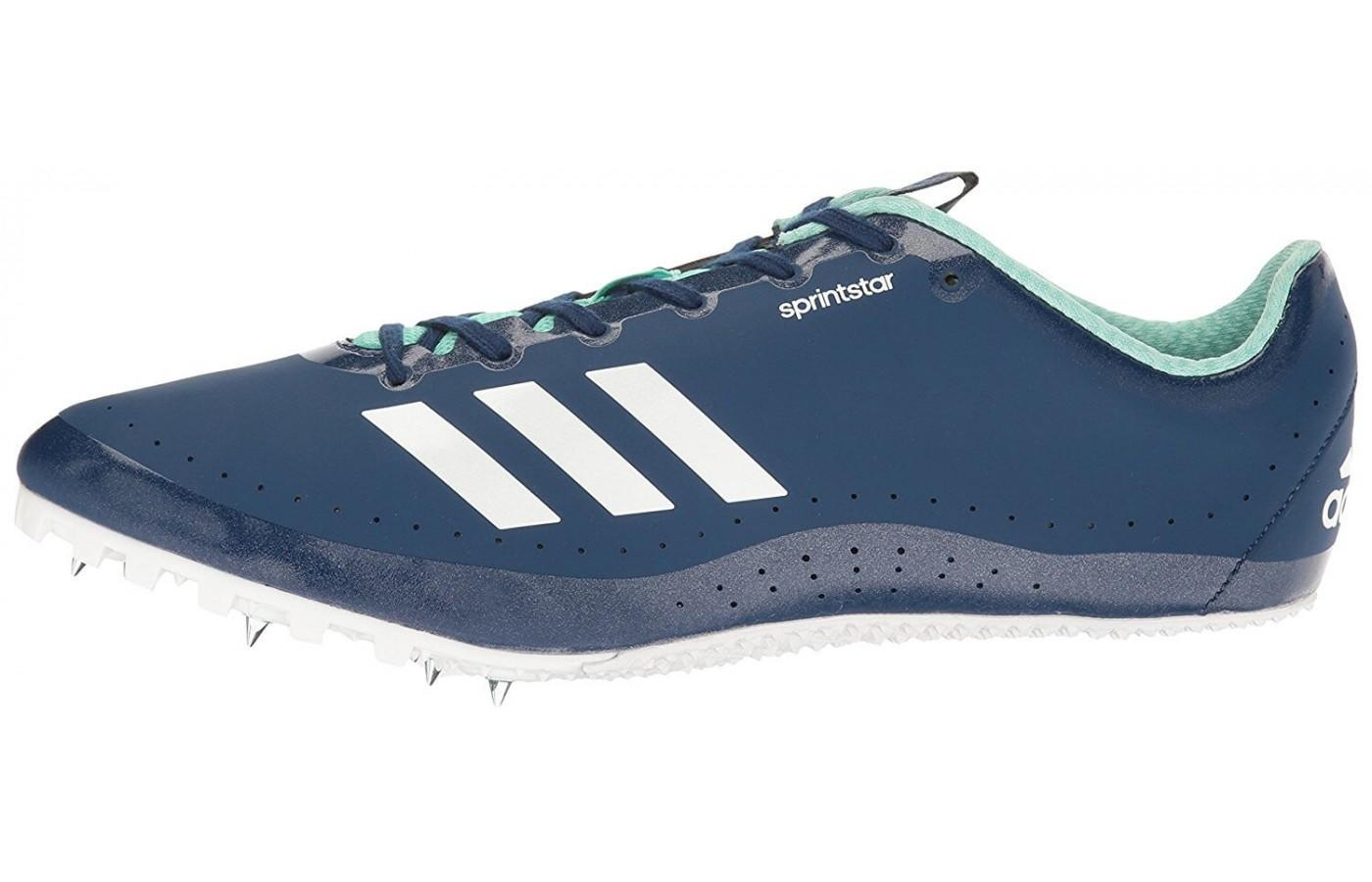 The Adidas Sprintstar is designed for racing up to 400 meters