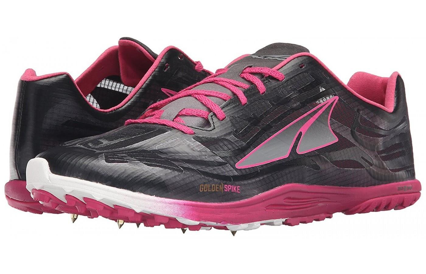 the Altra Golden Spike is made of durable materials and is a one-piece construction