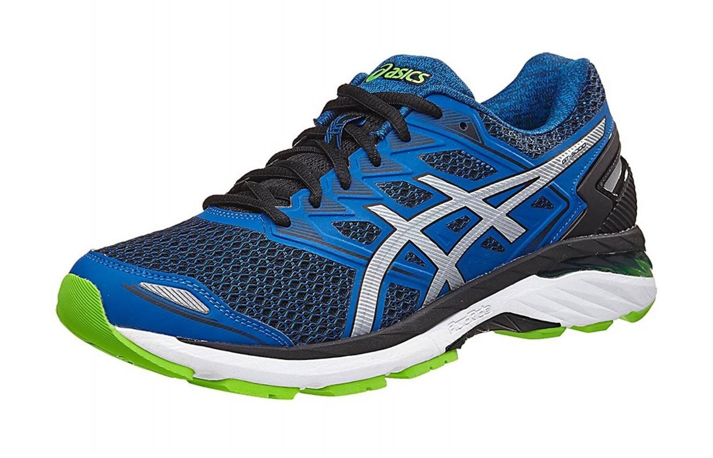 The Asics GT 3000 5 shown from the front/side
