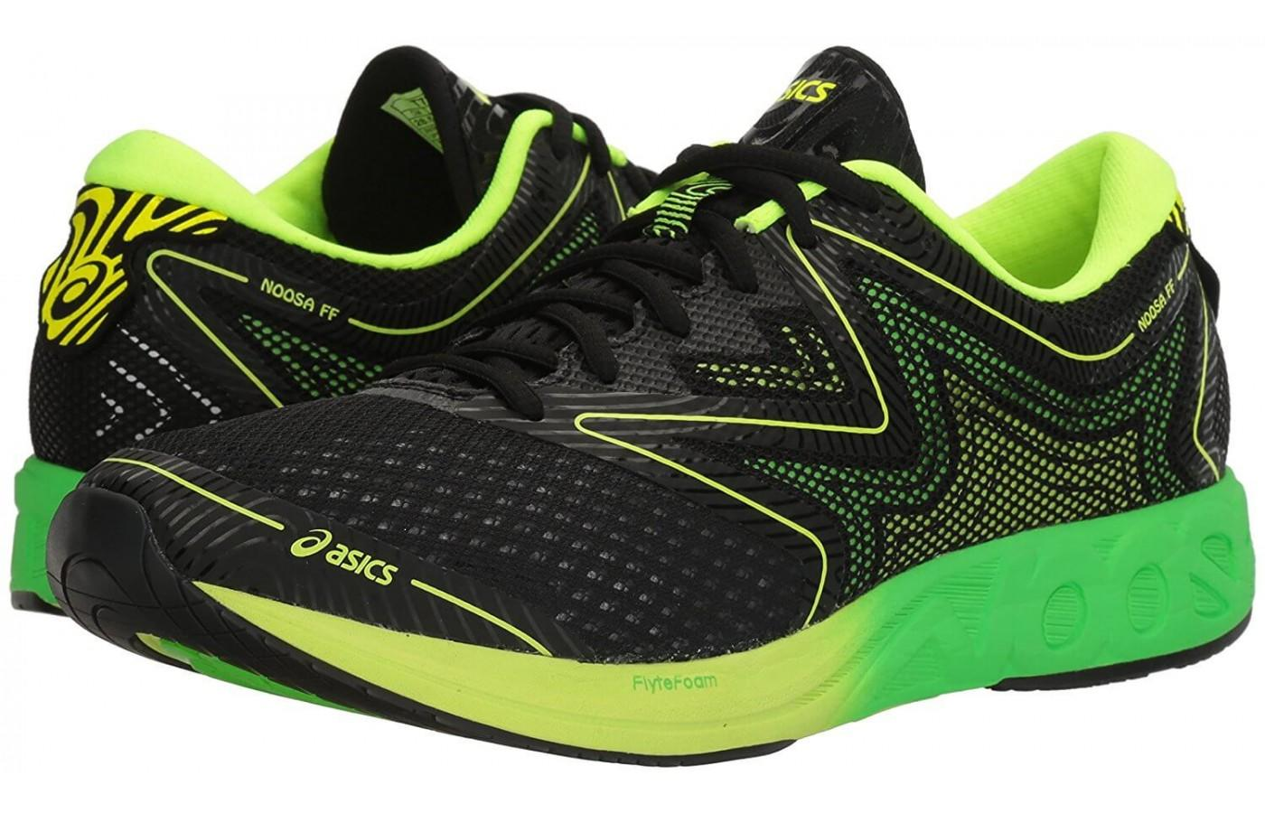 innovative design 72212 435b2 ... the Ascis Noosa FF is a versatile and comfortable running shoe that are  suitable for both