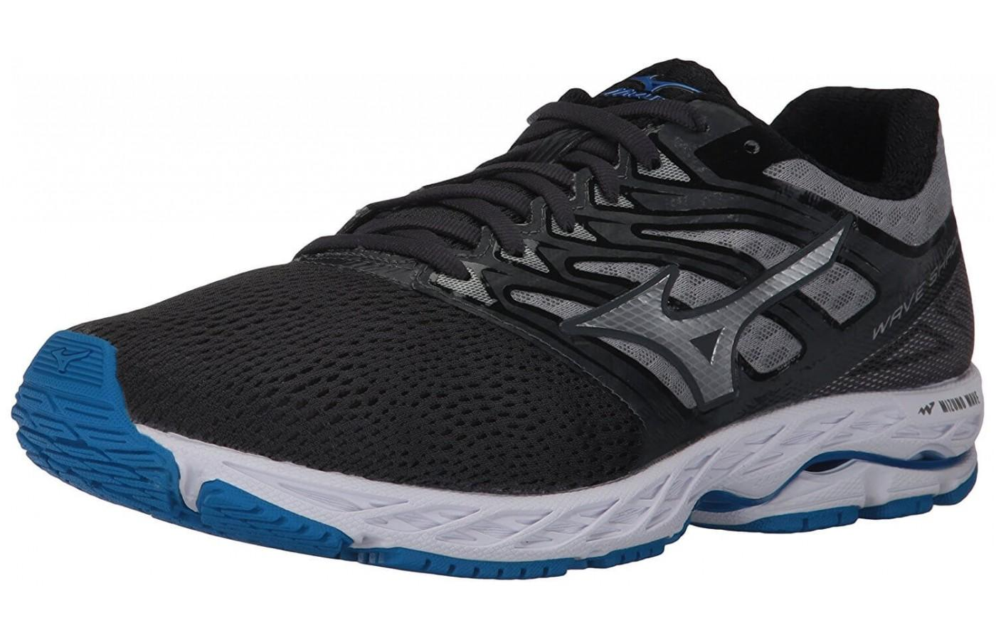The Mizuno Wave Shadow features an 8mm drop