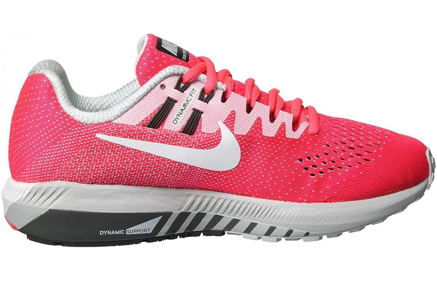 new styles 242f7 ab38a ... Nike air zoom structure 20 has a great design