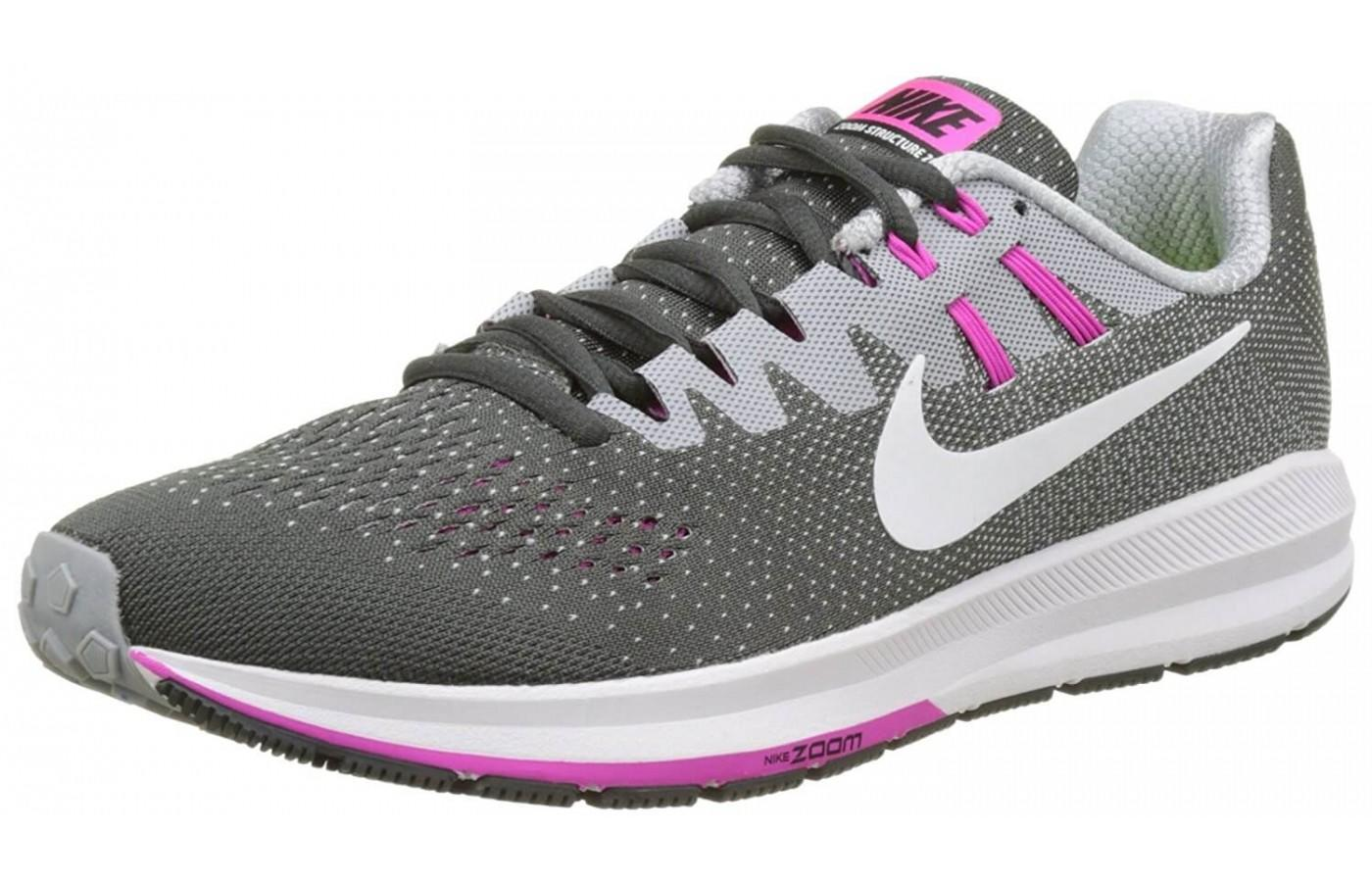 b1dce2e11c9f0f A good look at the left side of Nike air zoom structure 20 ...