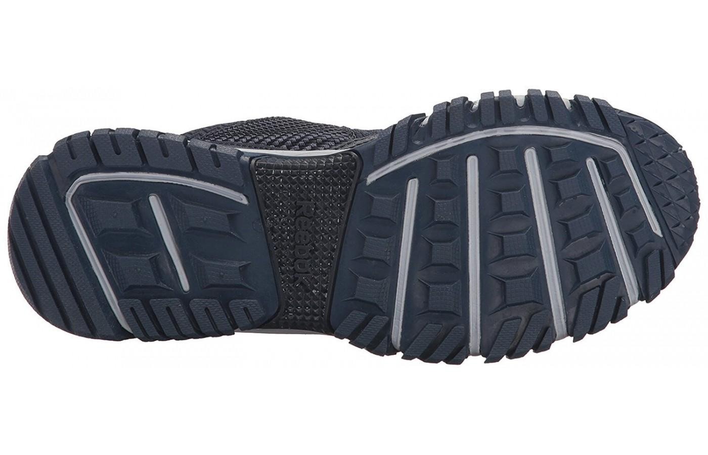 Reebok Ridgerider Trail 2.0 has a carbon rubber outsole