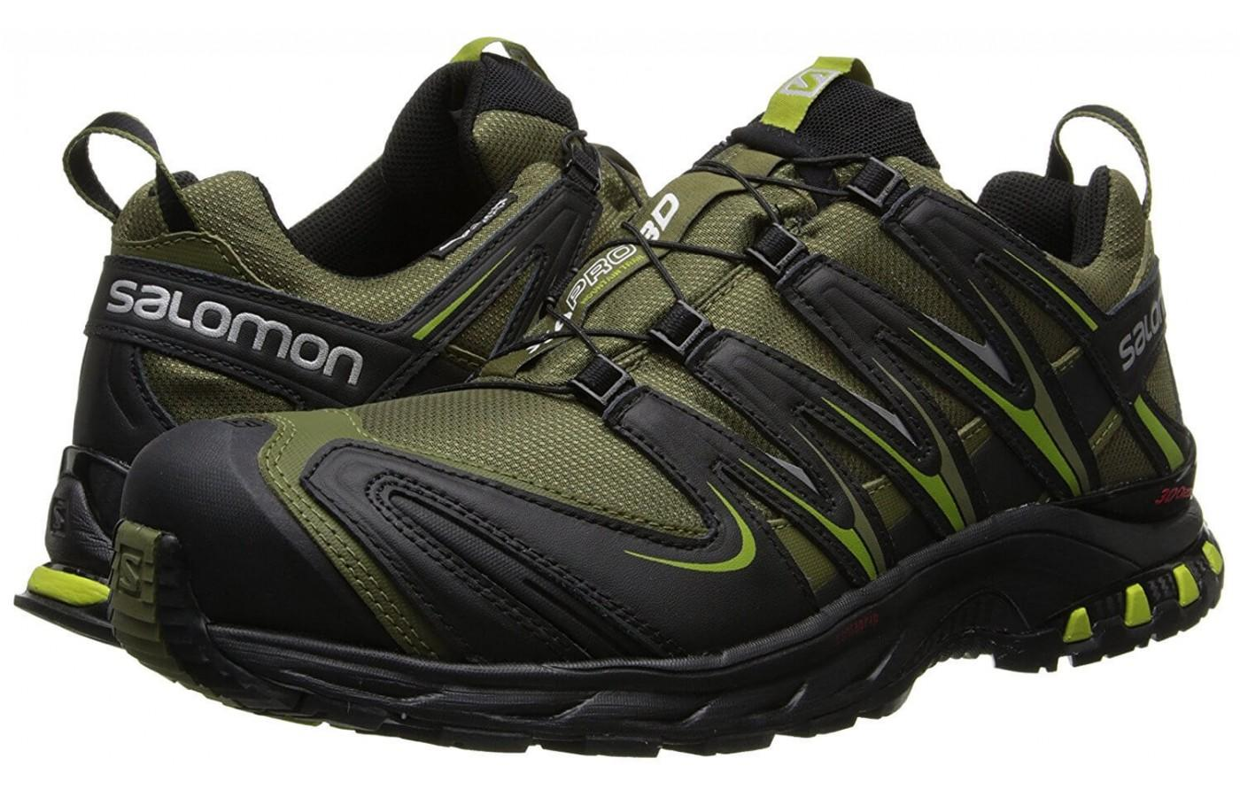 the Salomon XA Pro 3D CS WP is a trail shoe for hikers and runners that go into harsh conditions and extreme climates