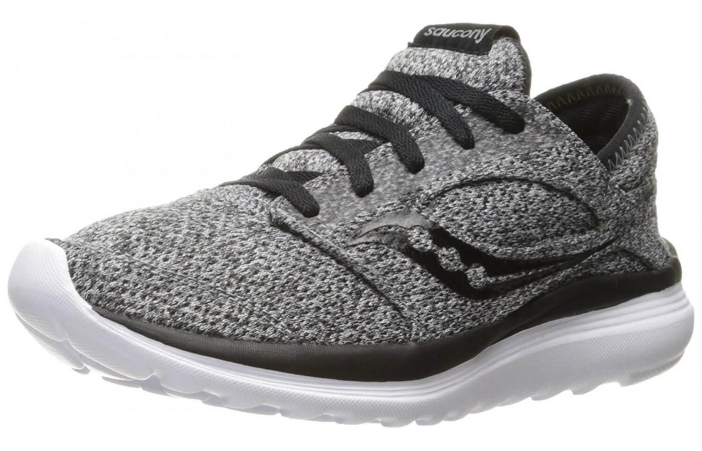 Saucony Kineta Relay in women's heathered grey colorway