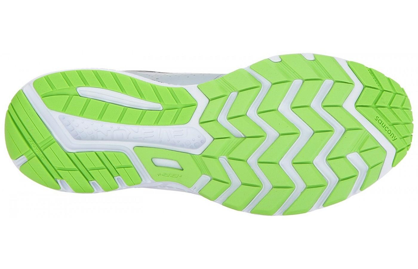 86ebe88837a0 ... the outsole provides solid traction on the road  the saucony ride 10 ...