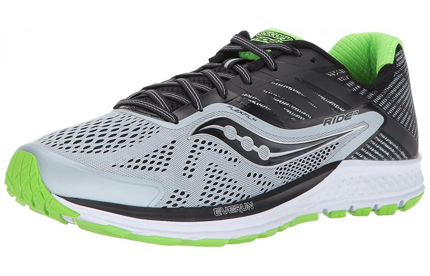 this is the 10 iteration in the saucony ride line