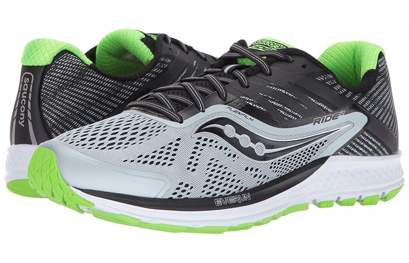 the saucony ride 10 is a great shoe for the neutral road runner
