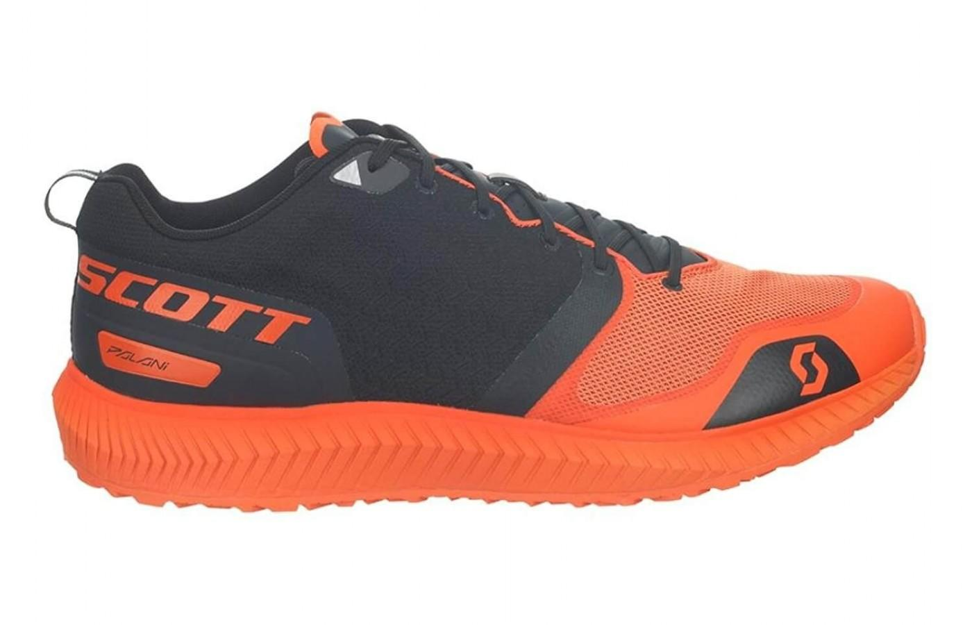The Scott Palani Trainer has an eye-popping color scheme.