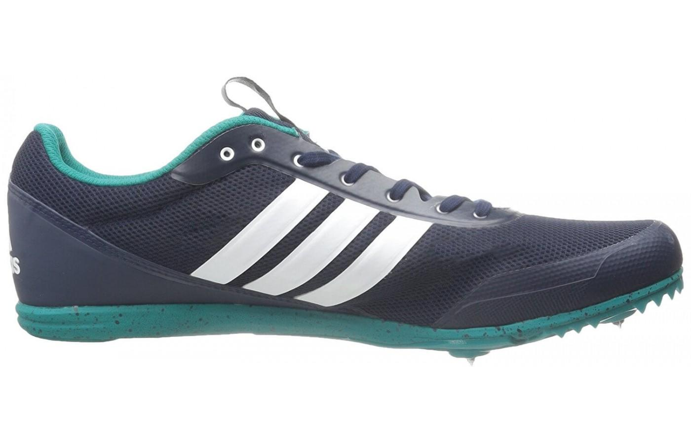 huge selection of 34eb1 c7f1c ... The classic Adidas insignia decorates this shoe ...