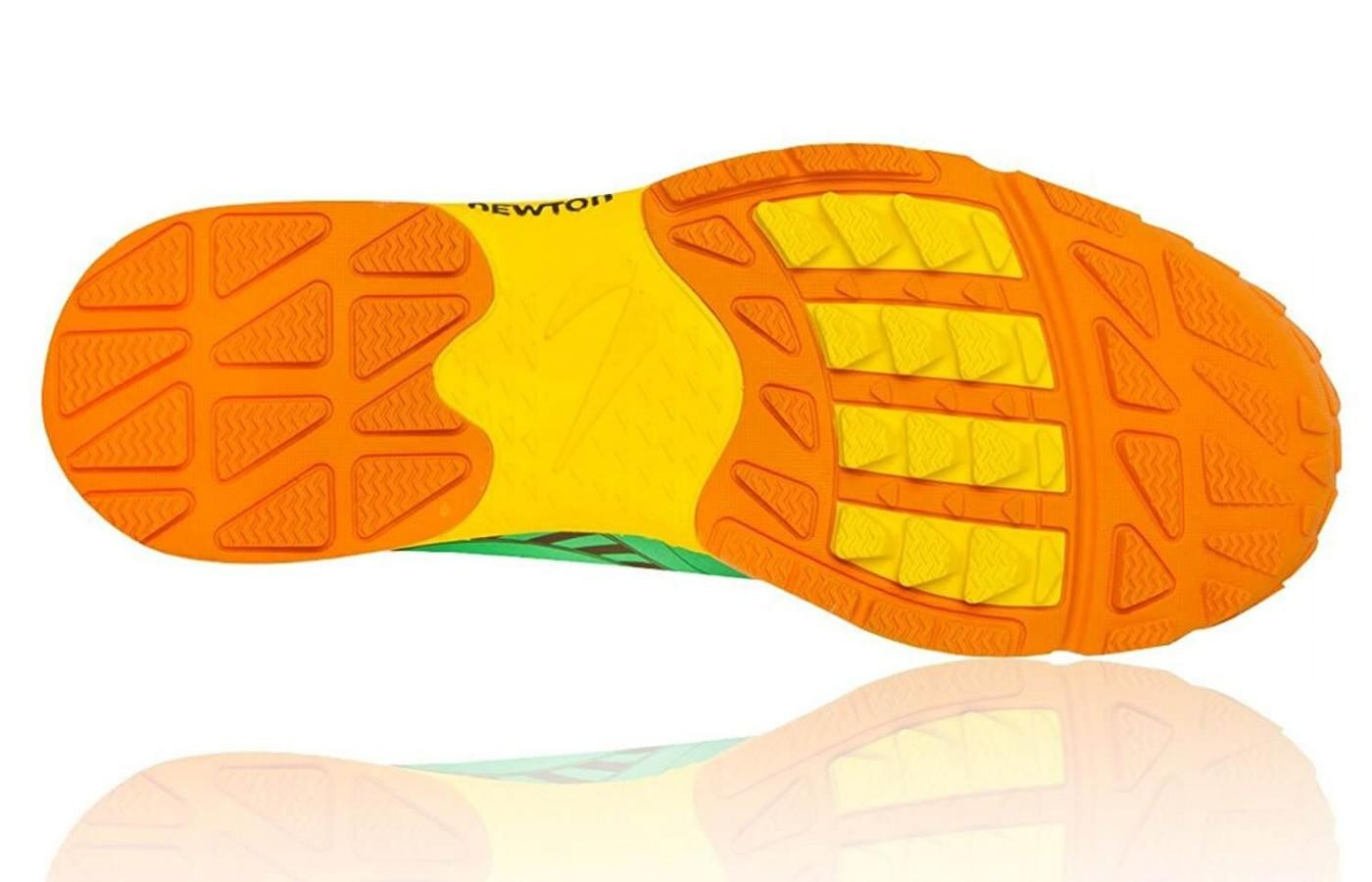The outsole features Puma's patented action/reaction technology
