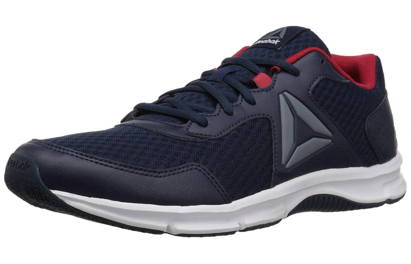 The Reebok Express Runner provides the runner with a very breathable upper. 24ad96d93