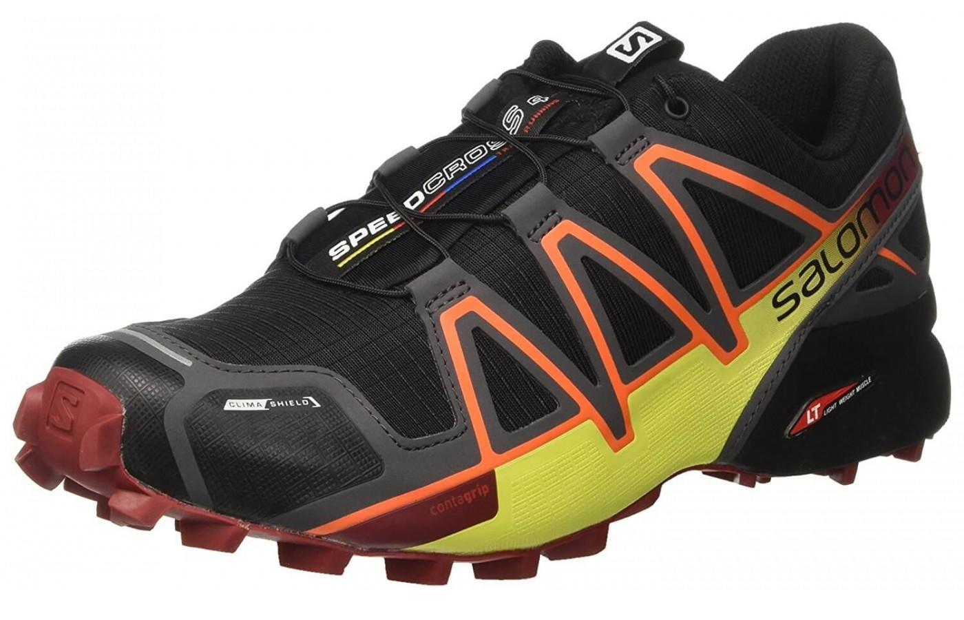 The Salomon Speedcross 4CS is a durable trail running shoe for the outdoor adventurer.
