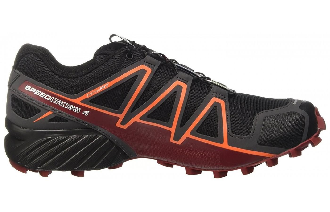 This shoe features an IMEVA midsole for added cushioning and responsiveness
