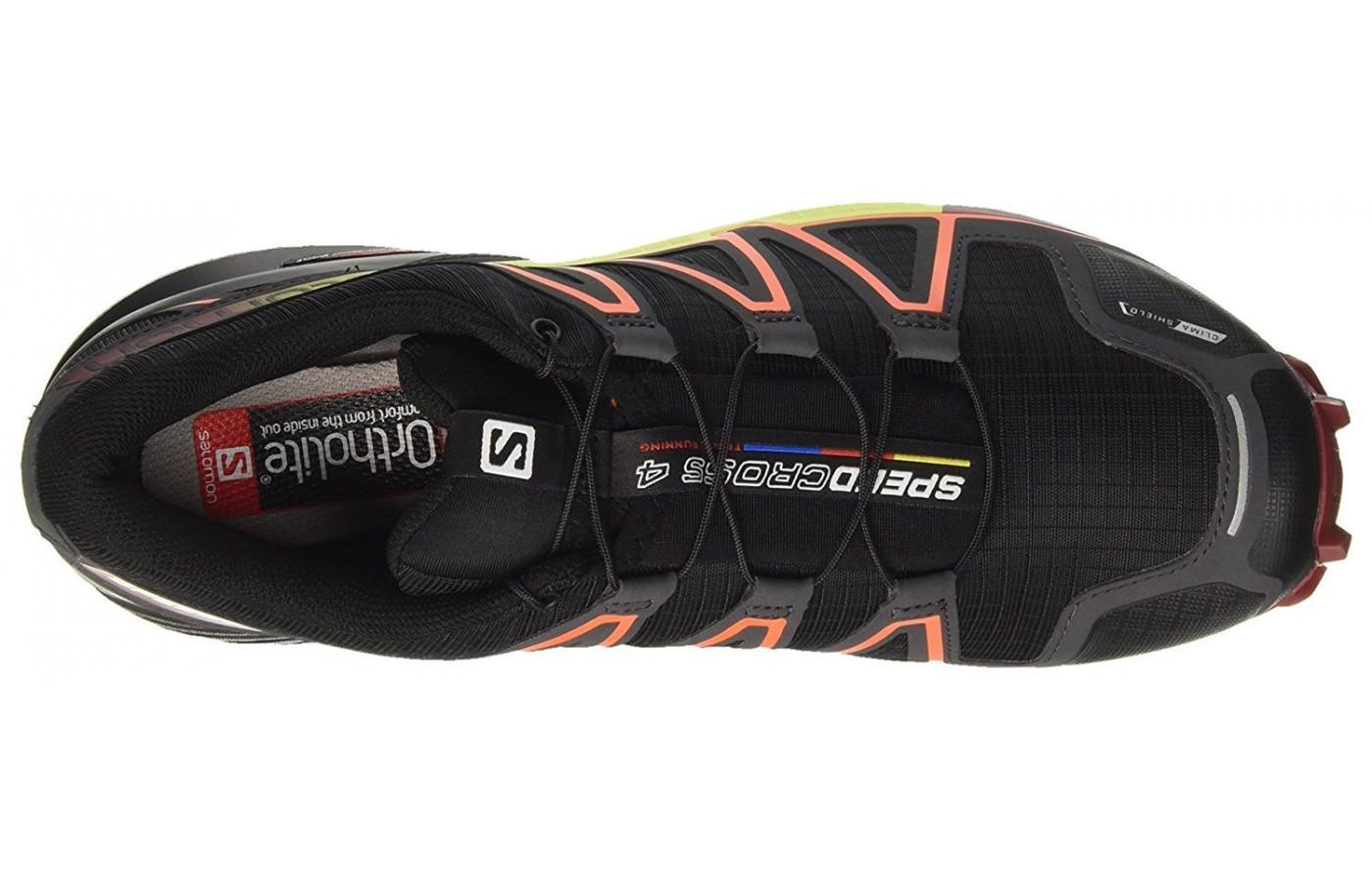 The ortholite sock liner keeps the foot dry and free from odor and bacteria