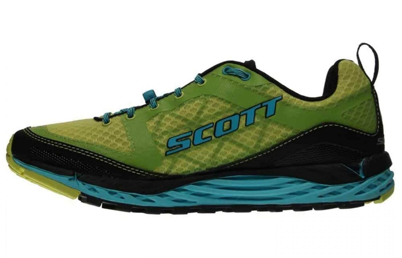 The eRide midsole promotes a natural movement in the gait cycle.