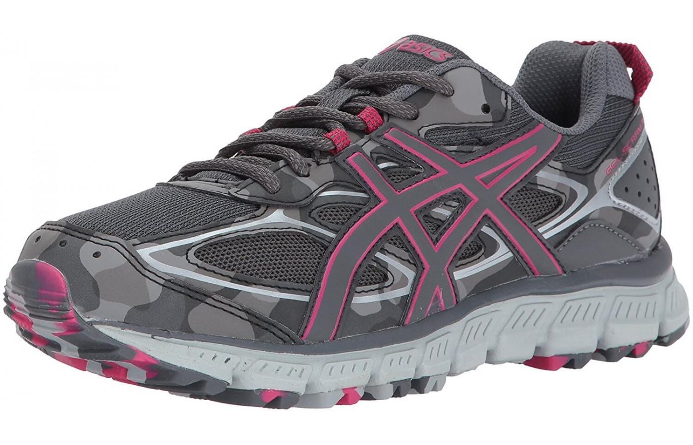 The Asics Gel Scram 3 is a no nonsense trail running shoe.