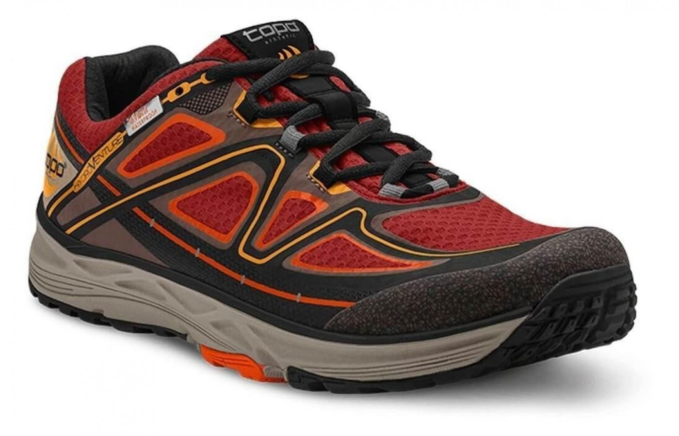 The Topo Athletic Hydroventure is the perfect waterproof shoe to add to your trail running arsenal.