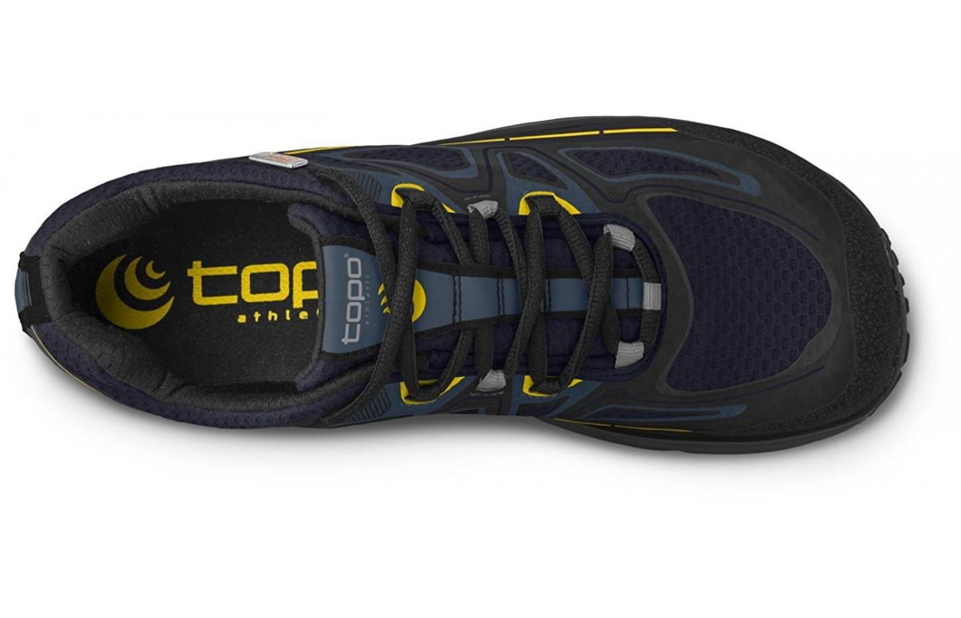 The shoe is lightweight and breathable.