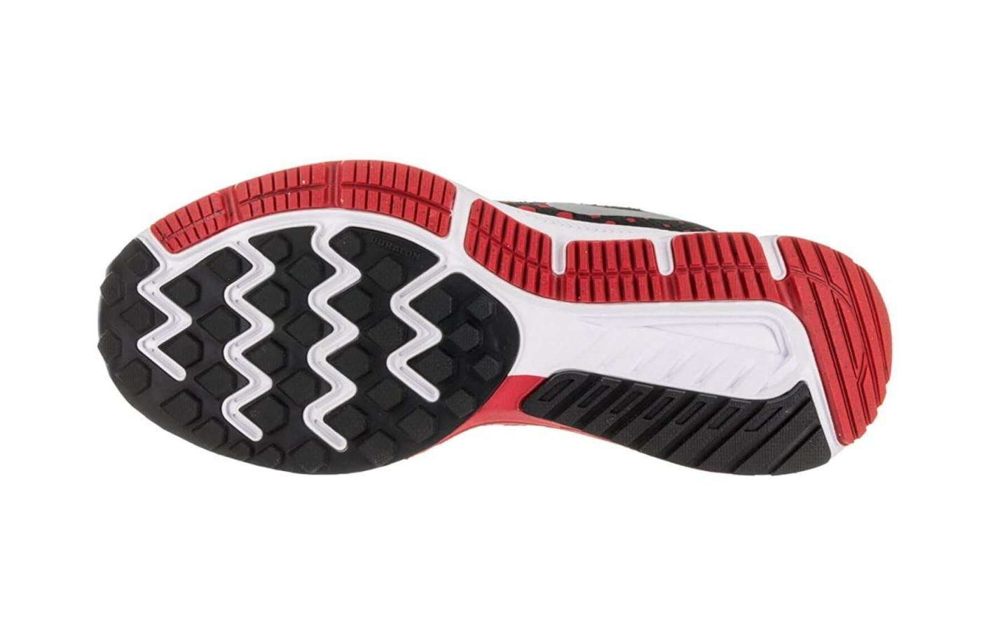 3f2ca3a414c8 The Air Zoom Span is a stylish shoe  The waffle technology and Durlaon  blown rubber are shown here ...