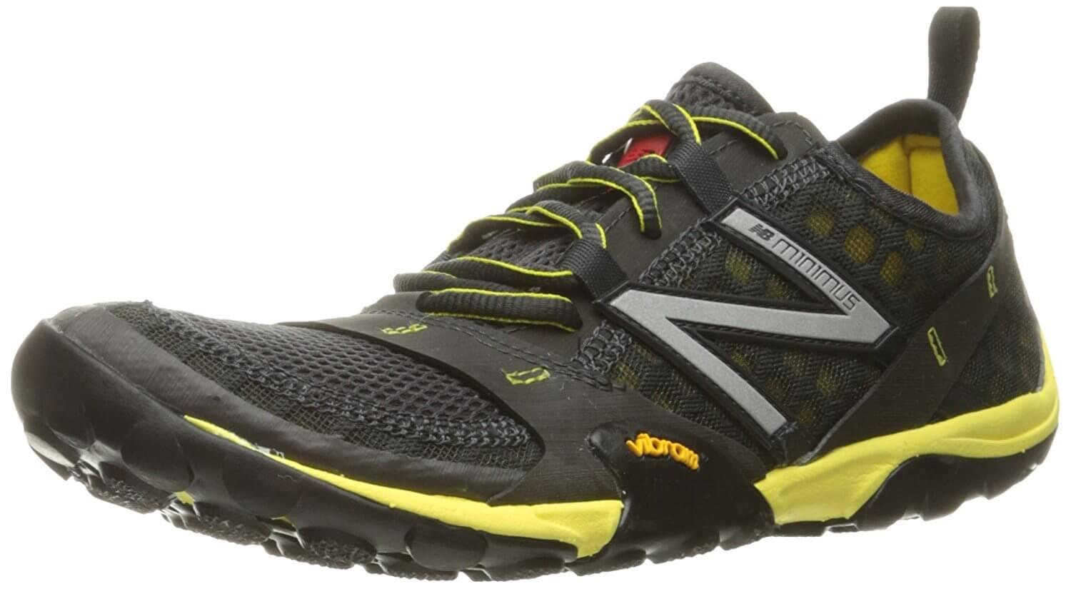 This shoe is stylish and clean, reminscent of many newer New Balance shoes.