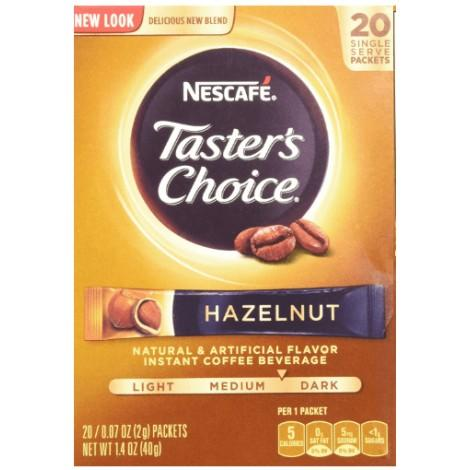 7. Nescafe Tasters Choice Hazelnut