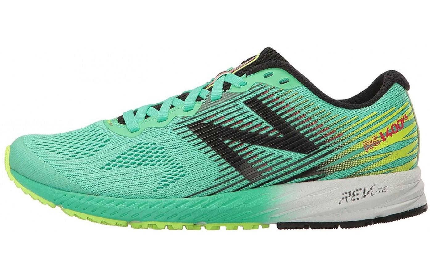 The New Balance 1400v5 has cushioning that is lightweight and supportive