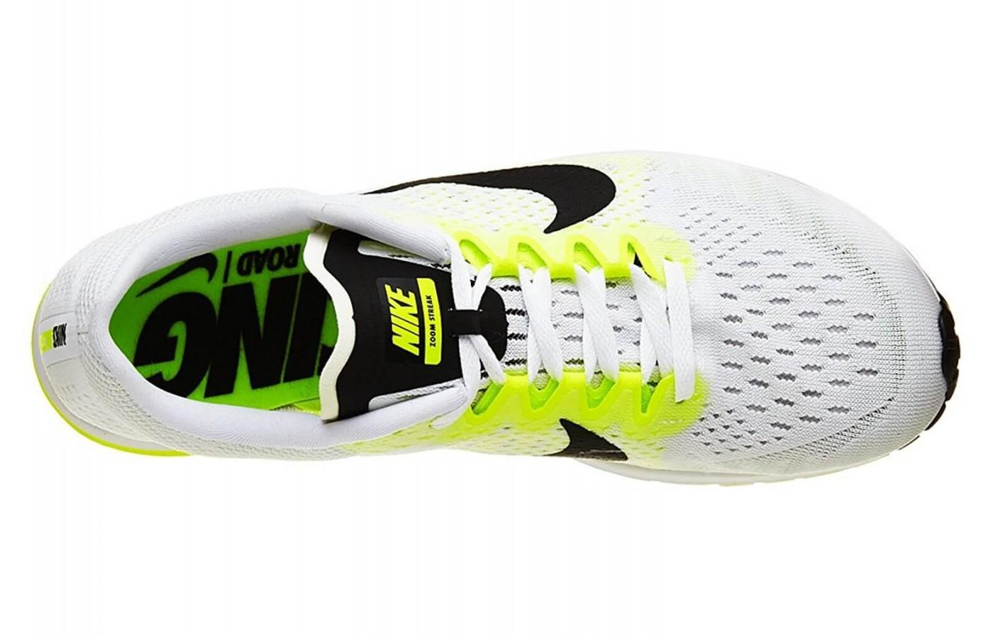 Nike Air Zoom Streak 6 features  Flymesh upper