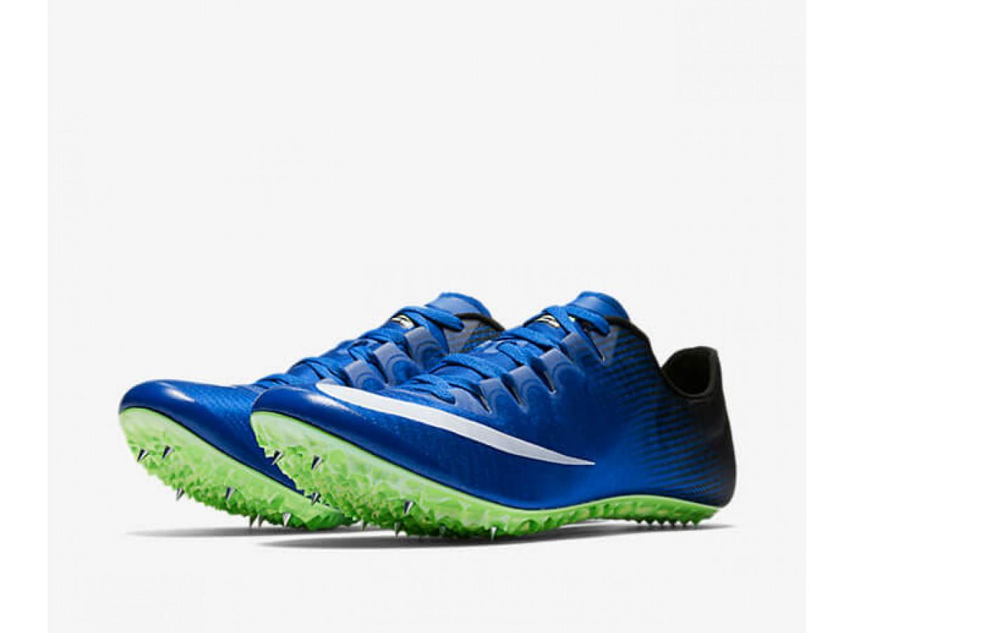 cc90f6dd88755 Nike Zoom Superfly Elite features a metal spike plate ...