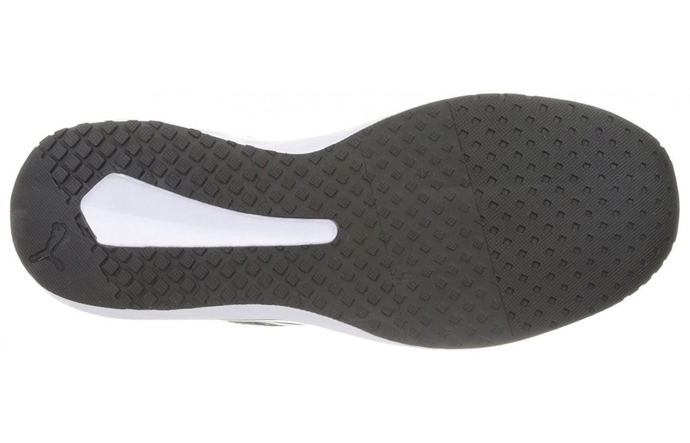 The Puma Flare has a carbon rubber outsole