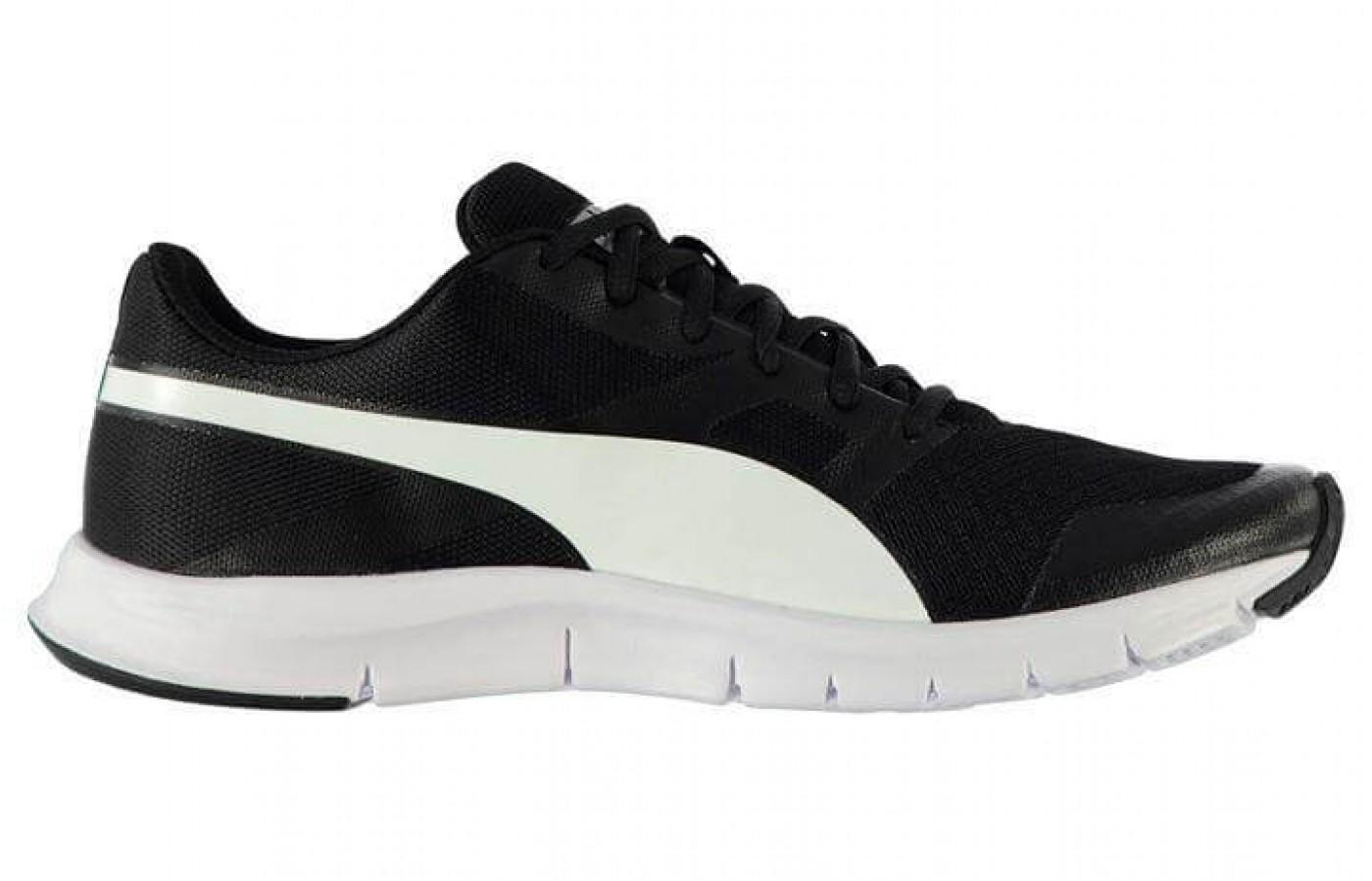 The Puma Flex Racer is a neutral shoe