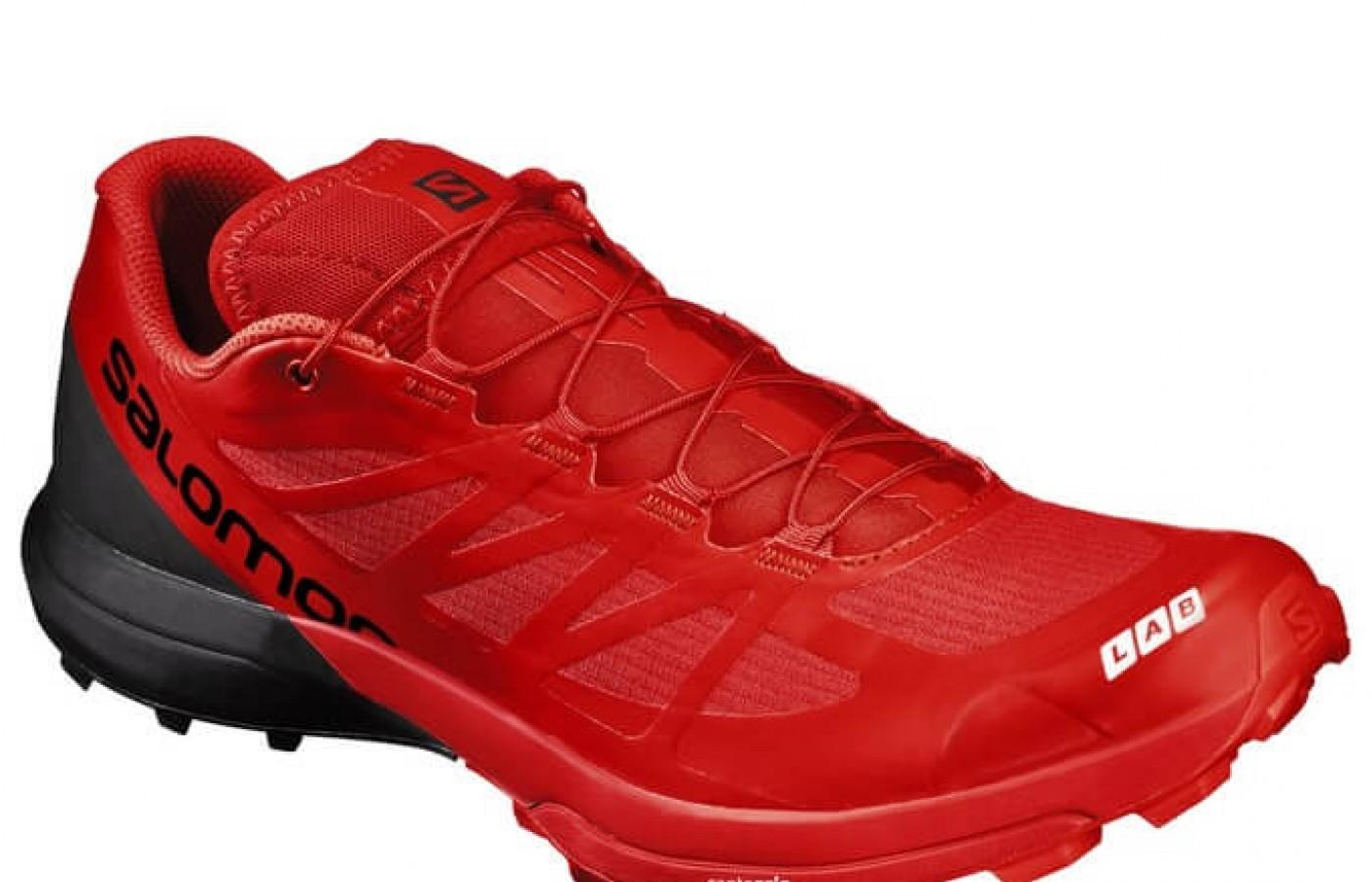The Salomon S-Lab Sense 6 SG has a 4mm drop