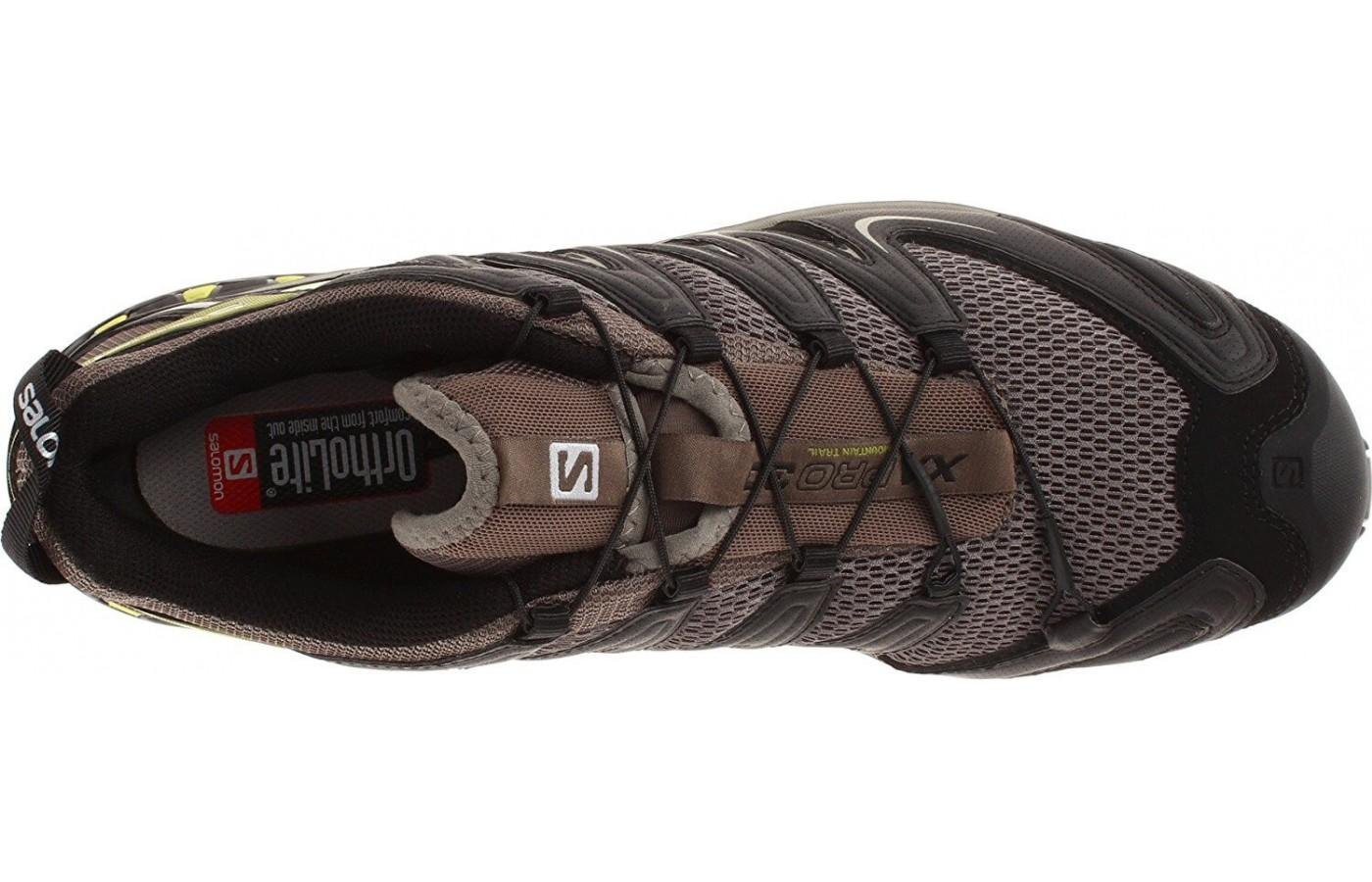 The Salomon Xa Pro 3D M+ provides a precise, secure fit