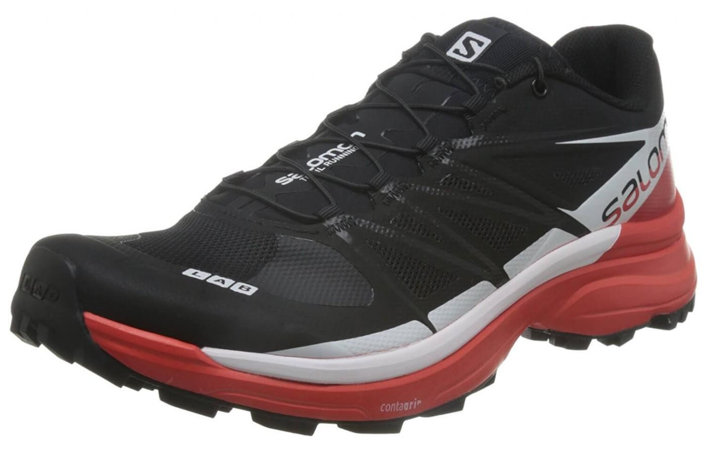 Salomon S-Lab Wings 8 SG features a toe bumper for protection